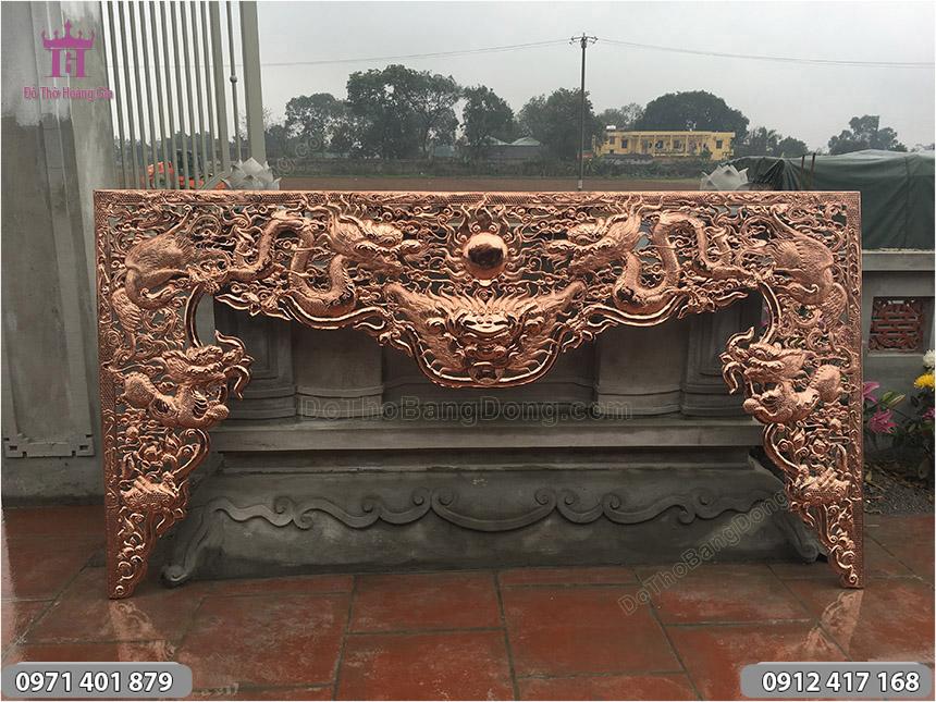 Cửa Võng Bằng Đồng Thúc Tay Thủ Công
